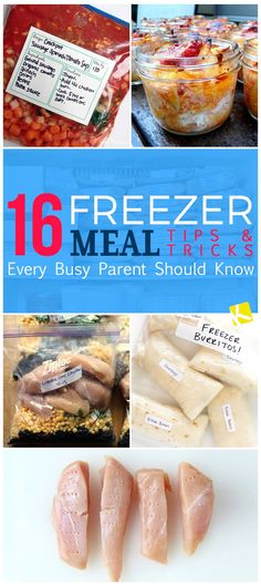 16 Freezer Meal Tips & Tricks Every Busy Parent Should Know