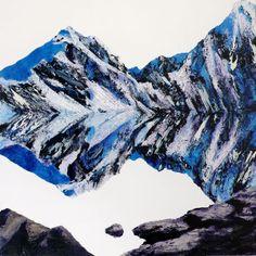 Shadow Line Mountains, texture, negative space =flat shapes Flat Shapes, Image Types, Google Images, Mountains, Landscape, Portrait, Canvas, Artist, Negative Space