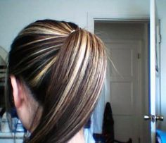streaked hair - Google Search