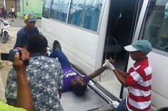 en directo: Nacional Haitiano muere dentro de una guagua de tr...