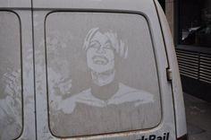 Dirt Art by Robert Burden #London