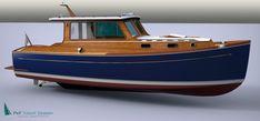 Plans for a Classic Delta cabin cruiser.