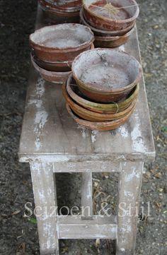 <3 Potting-table //  Encontrado en seizoenenstijl.blogspot.nl