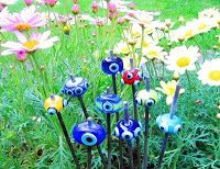 , Evil Eye Jewelry, Popular Culture, Blue Beads, Glass Beads, Blessed, Fantasy, Eyes, Flowers, Diy