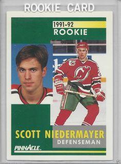 Scott Niedermayer RC - 1991-92 - Pinnacle New Jersey Devils # 349 #NewJerseyDevils