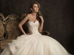 New-White-Ivory-A-line-Wedding-dress-Bridal-Gown-Custom-Size-6-8-10-12-14-16-18