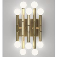 Wall Lamps & Sconces - Meurice Five-Arm Wall Sconce