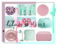 """""""#colorchallenge  #lilacandmint"""" by cstarzforhome ❤ liked on Polyvore featuring interior, interiors, interior design, home, home decor, interior decorating, PBteen, Colonial Mills, Kate Spade and Matthew Williamson"""