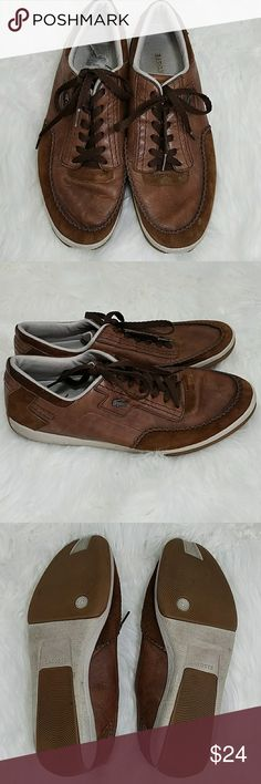 8b46680938 Men's Lacoste Brown Sneakers Shoes 11.5 In GUC with no rips or stains, see  pictures