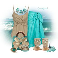 Beach Outfit :) super cute, i might even try those weird sandals! Love Fashion, Spring Fashion, Fashion Beauty, Womens Fashion, Fashion Ideas, Cruise Outfits, Summer Outfits, Summer Wear, Kendra Scott