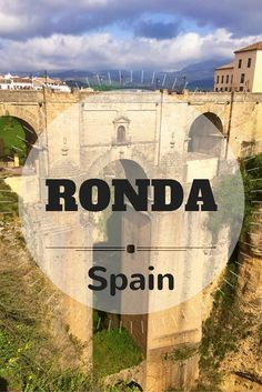 Ronda is famous for it's dramatic mountaintop views. It has managed to maintain much of it's historic charm even as more and more tourists flood each year.