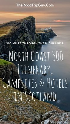 The Best North Coast 500 Itinerary, Campsites & Hotels in Scotland Scotland Road Trip, Scotland Travel, Ireland Travel, Scotland Beach, Scotland Vacation, Galway Ireland, Ireland Vacation, Edinburgh Scotland, North Coast 500 Scotland