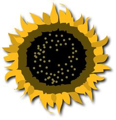 result sun clip art black