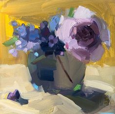 Speedy Peony and Lilacs Fruit Painting, Painting Prints, Painting Lessons, Art Lessons, Still Life Flowers, Painting Workshop, Art Courses, Famous Art, Rose Art