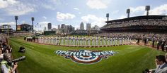 Opening Day 2015, PNC Park, Pittsburgh