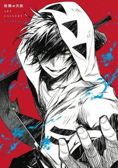 "Satsuriku no Tenshi (Angels of Death). w/Satsuriku no Tenshi (Angels of Death) Clear Sheet. For ""Angels of Death "" Fans! Angels of Death, then this is one art book you don't want to miss out on! Otaku Anime, Manga Anime, Anime Art, Anime Angel, Angel Of Death, Manga Boy, Death Art, Satsuriku No Tenshi, Hot Anime Boy"
