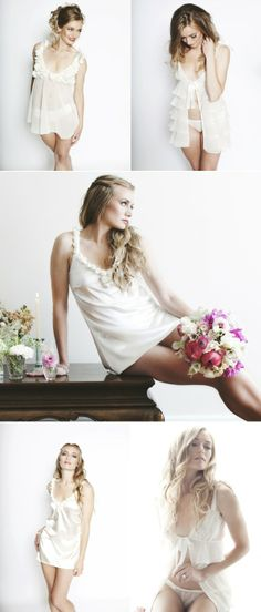 Honeymoon and Bridal Lingerie by Anne Kristine
