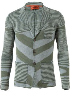 MISSONI Space Stripe Knitted Cotton-Blend Jacket MENS $1089.90