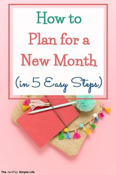 Take a look at my monthly planning routine: the 5 steps for how to plan next month. These include a recap of last month, the budget and bills, and creating new monthly goals (that can be done daily and weekly). Plus, there's the new month to do list. Pull out your calendar or planner and get ready! #goals Self Development, Personal Development, Task To Do, Take Money, My Calendar, Specific Goals, Goal Planning, Goals Planner, New Month