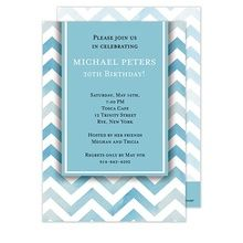 Birthday Party Invitation - Coordinating Thank You Cards and Return Address Labels are available.