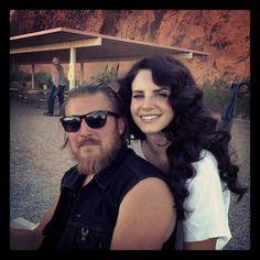 Lana with Josh Kurpius