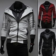 Assassin's Creed Style Jackets (they were designed for men, but would be very attractive as women's clothing)