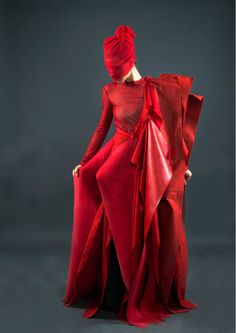 #Sincolors by Andr EEa, #fashion, #now, #red, #layers, #style
