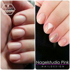 Nude Nails and Nude with a twist.   #crystalnails #veralangeslag #nagelstudiopink #arnhem