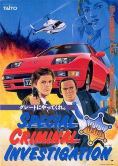 Special Criminal Investigation - S.C.I., Arcade, Taito, 1989.
