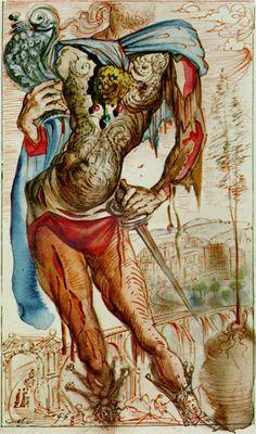 Salvador Dali, The Autobiography of Benvenuto Cellini