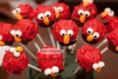 Will definately make these for my nephew, he is obsessed with Elmo!