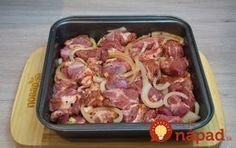 Archívy Hlavné jedlá - Page 8 of 118 - To je nápad! No Salt Recipes, Pork Recipes, Cooking Recipes, European Dishes, Pork Meat, Czech Recipes, Pork Tenderloin Recipes, Food 52, Main Meals