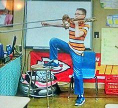 David at school 2016. 6th grade