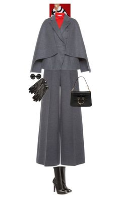 """Josephine Iris Belle #7683"" by canlui ❤ liked on Polyvore featuring Alexander McQueen, Dice Kayek, Causse, J.W. Anderson, Linda Farrow, monochrome, oversized, coat, coats and oversizedcoats"