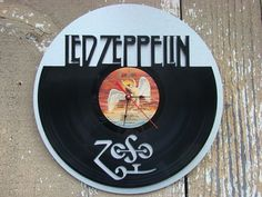 Repurposed recycled Vinyl Record   Led Zeppelin vinyl by ReSpinIt, $45.00