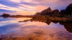 Lake reflections in the middle of atlantic by xenupy  Calheta Madeira Porto Santo Portugal avg beach beautiful beauty blue clouds coast image averaging la