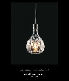 Lighting available at Evitavonni    www.evitavonnilondon.com