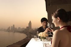 Romantic dinner in Shanghai