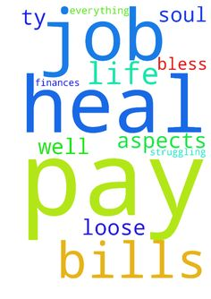 Please pray for me to get a job so I can pay my bills - Please pray for me to get a job so I can pay my bills before I loose everything, Please pray that God heals my finances and heal my soul as well as I am struggling in all aspects of my life. TY God Bless Amen Posted at: https://prayerrequest.com/t/E5f #pray #prayer #request #prayerrequest