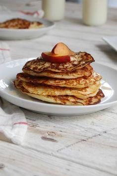 Honey Cornbread Pancakes