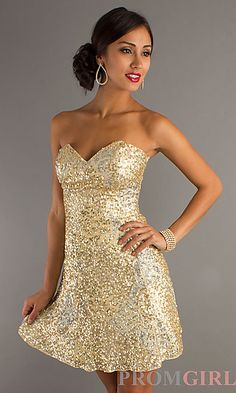 Holy crap this is just like my homecoming dress except mine fades from pink to gold to white to pink
