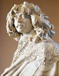 Thomas Baker by Gian Lorenzo Bernini, marble sculpture, circa 1638, (1598-1680)
