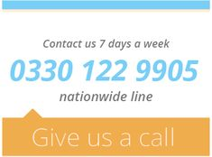 Contact us 7 days a week