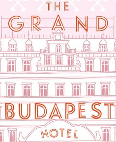 The Grand Budapest Hotel Poster Wes Anderson by bestplayever - 44$