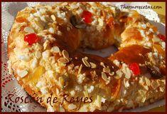 Roscón de Reyes # Para mí no habría Navidad sin roscón de reyes. Es mi dulce preferido en estas fechas, podría pasar sin probar los turrones pero sin mi roscón ¡no podría!. Siempre los hemos comprado pero cuando mi …