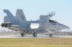 #RAAF Super Hornet returns after an #Airshow display #avgeek #aviation #photography #canon #YourADF Canon Australia