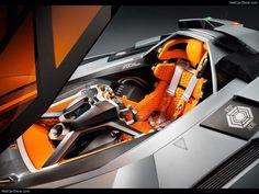 a Lamborghini Egoista Concept 07