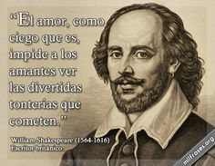 William Shakespeare, escritor británico.