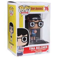 Funko Bob's Burgers Pop! Animation Tina Belcher Vinyl Figure Hot Topic (37 BRL) ❤ liked on Polyvore featuring home and home decor