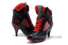 http://www.jordannew.com/womens-nike-air-jordan-5-high-heels-shoes-black-red-super-deals.html WOMEN'S NIKE AIR JORDAN 5 HIGH HEELS SHOES BLACK/RED SUPER DEALS Only $99.46 , Free Shipping!